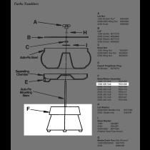 Lyman 1200 Tumbler Base/Motor Assembly 220v SPARE PART LY7631406