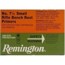 Remington Small Rifle Bench Rest Primers No 7 1/2 100 PACK REM-71/2