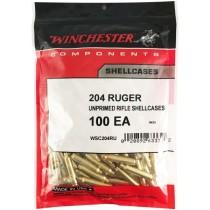 Winchester Brass 204 RUGER 100 Pack WINU204