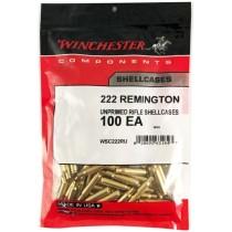 Winchester Brass 222 REM 100 Pack WINU222