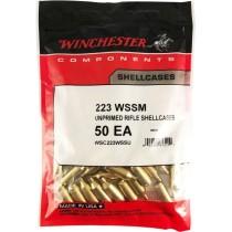 Winchester Brass 223 WSSM 50 Pack WINU223SS